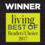 Best Of Living Magazine - Readers Choice 2017 Winner